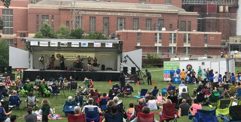Concert in the Park 2017