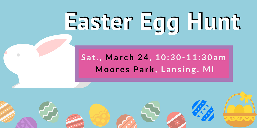 2018 Easter Egg Hunt at Moores Park